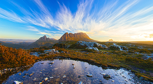 The Magic Cradle Mountain